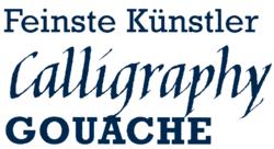 Calligraphy Gouache