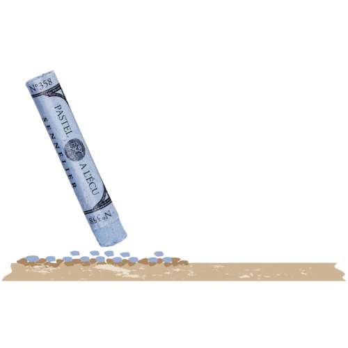 Sennelier - Pastel Card, carta per pastello in fogli