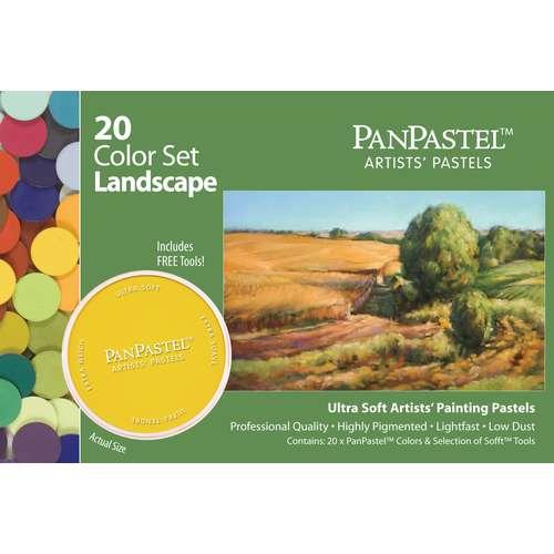 PanPastel - Ultra Soft, set di pastelli artistici da 20