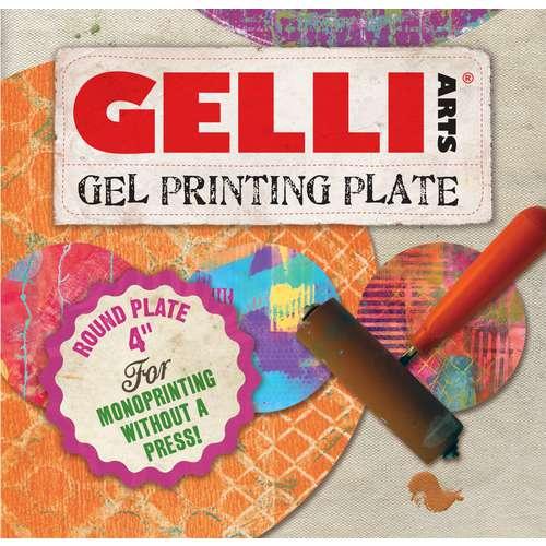 Gelli Arts - Lastre per stampa, gel, tonde