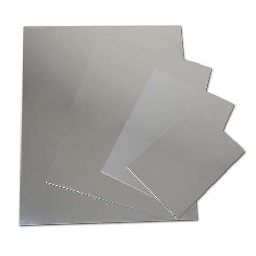 Lastre di zinco semplici