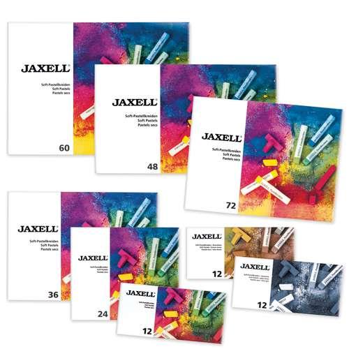 Jaxell - Pastelli morbidi in scatola di cartone