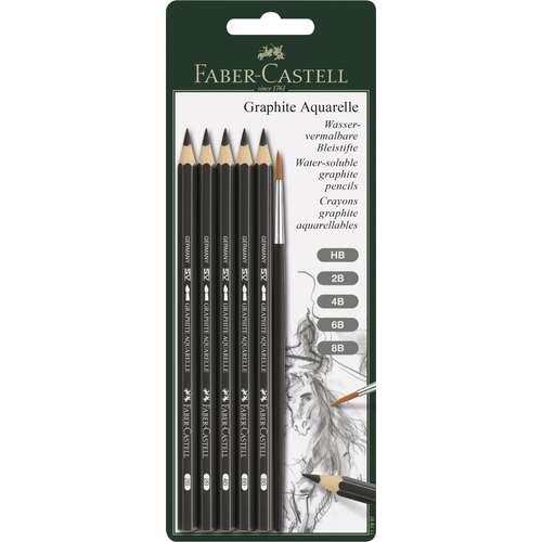Faber-Castell - Graphite Aquarelle, set matite acquerellabili