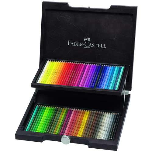 Faber-Castell - Polychromos, set matite colorate in valigetta di legno
