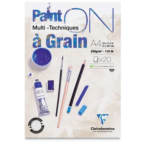 Clairefontaine PAINT ON carta multitecnica