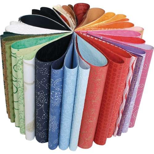 """Clairefontaine - Blocchi """"Carta da tutto il mondo"""", carta naturale"""