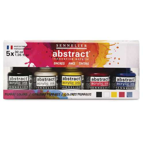 Sennelier - Abstract Ink Set Colori primari