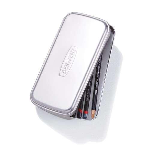 Derwent - Astuccio per matite in metallo