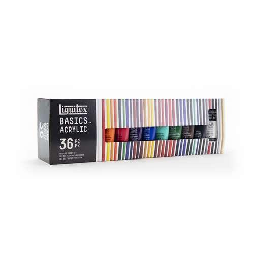 Liquitex - Set di colori acrilici Basic