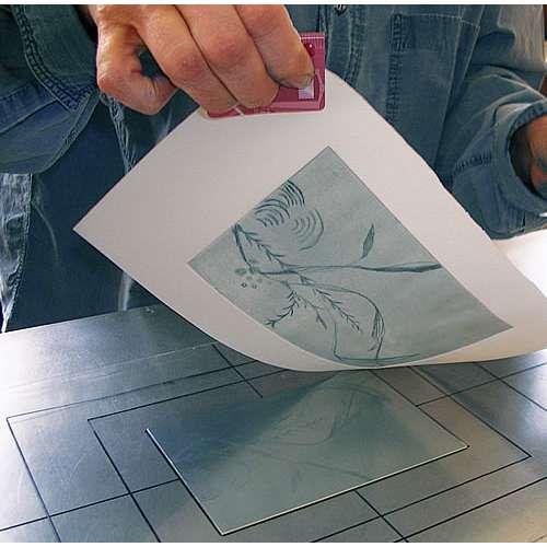 Zerkall carta calcografia - bianco, 450 g/g²